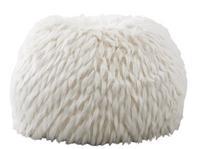 Winter Fox Faux-Fur Bean Bag Chair