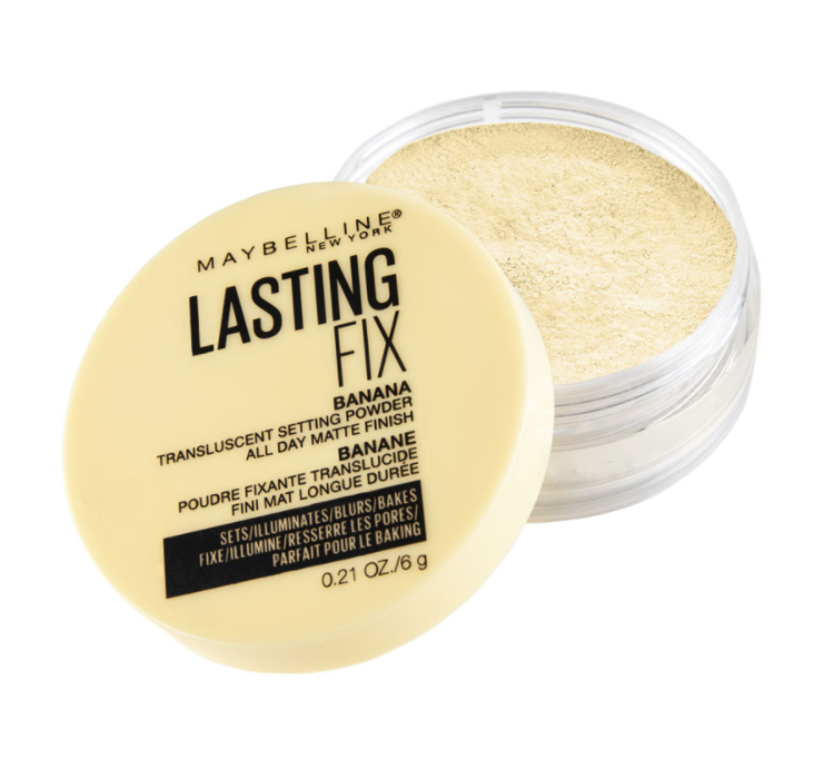 Maybelline Lasting Fix Banana Powder Loose Setting Powder Makeup