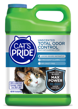 Cat's Pride Max Power: Total Odor Control Unscented