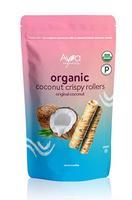 Ava Organics Coconut Crispy Rollers - Original Coconut