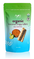 Ava Organics Coconut Crispy Rollers - Thai Chili Lime