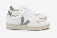 Veja V-10 White Oxford Grey