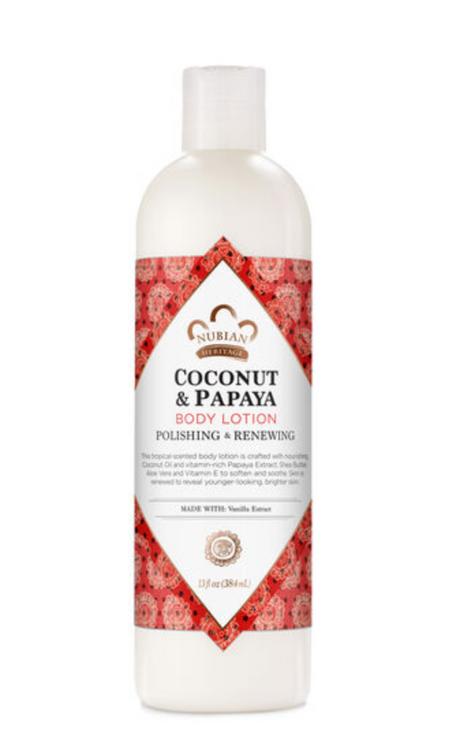 Nubian Heritage Coconut & Papaya Polishing & Renewing Body Lotion