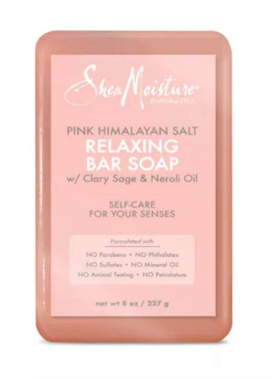 SheaMoisture Pink Himalayan Salt Relaxing Bar Soap
