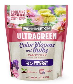 Penningotn Ultragreen Color Blooms  and Bulbs 15-10-10