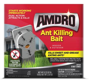 Amdro Ant Killing Bait Stakes 8pk