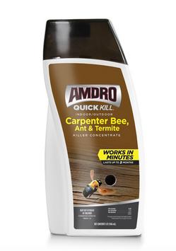 Amdro Quick Kill Carpenter Bee, Ant & Termite Killer Concentrate