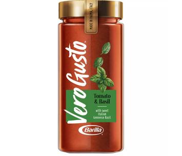 VERO GUSTO BY BARILLA Vero Gusto Tomato Basil Pasta Sauce