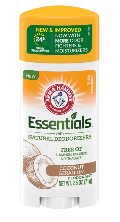 ARM & HAMMER™ Essentials Solid Deodorant, Coconut Geranium
