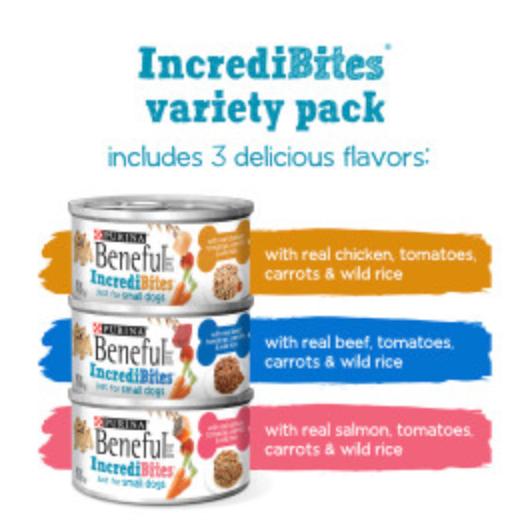 Beneful IncrediBites Wet Dog Food Variety 27 Pack