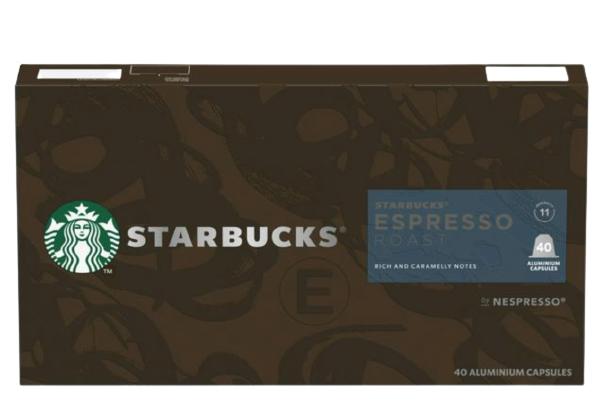 Starbucks Espresso Roast By Nespresso Coffee Pods