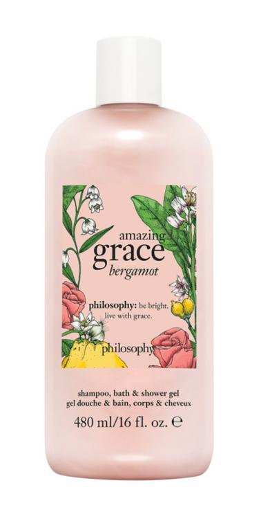philosophy amazing grace bergamot bath & shower gel