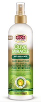 African Pride Olive Miracle 7-in-1 Leave-in Moisture Restore Curl Refresher