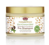 African Pride Moisture Miracle Aloe & Coconut Water Pre-Shampoo