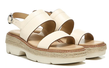 Naturalizer Holden Sandal - Pale Ivory Leather