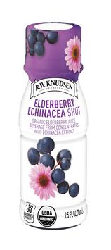 R.W. Knudsen Family® Elderberry Echinacea Shot, Organic Juice Beverage Shot
