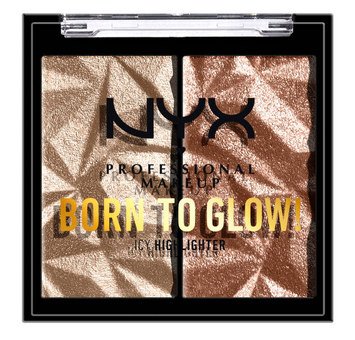 NYX Born To Glow Icy Highlighter Duo