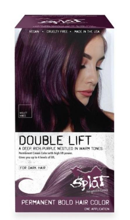 Splat Double Lift Permanent Color Violet Vibes (Deep Purple)