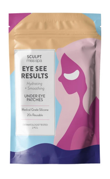 Miss Spa Sculpt EYE SEE RESULTS Hydrating + Smoothing Under Eye Patches