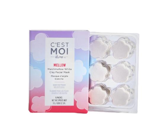 C'est Moi Mellow Marshmallow & White Clay Cloud Mask