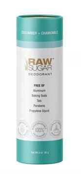 Raw Sugar Deodorant Cucumber + Chamomile