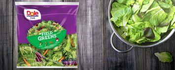 Dole Fresh Field Greens Salad