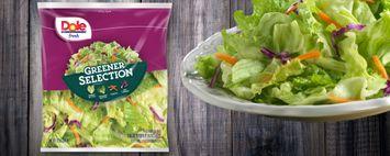 Dole Fresh Greener Selection Salad