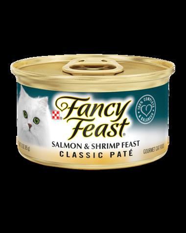Fancy Feast® Classic Paté Salmon & Shrimp Gourmet Wet Cat Food