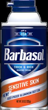 Barbasol® Sensitive Skin Thick & Rich Shaving Cream