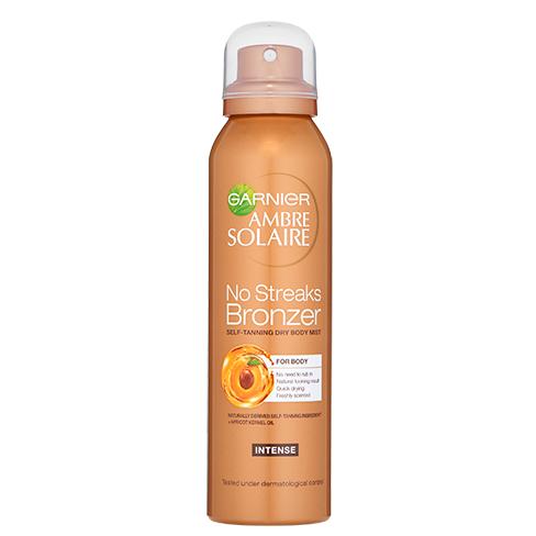 Garnier Ambre Solaire No Streaks Bronzer Self-Tanning Dry Body Mist