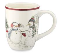 Williams Sonoma Snowman Mug
