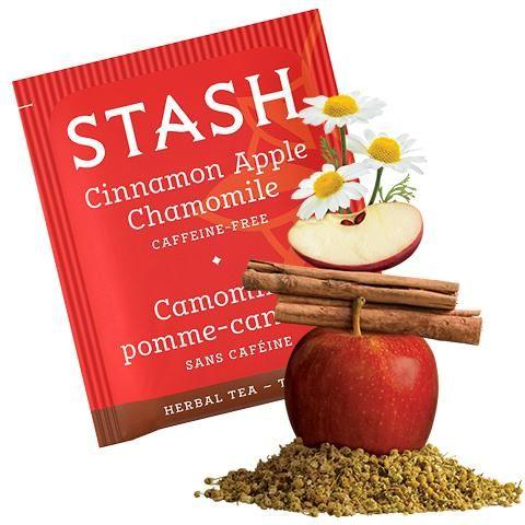 Stash Tea Cinnamon Apple Chamomile Herbal Tea