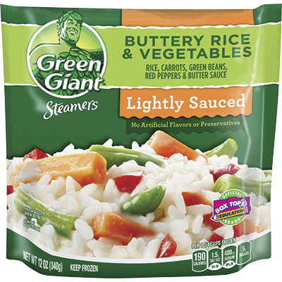 Green Giant® Steamers Buttery Rice & Vegetables