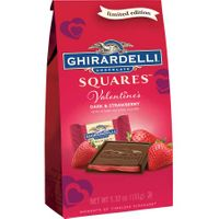 Ghirardelli Valentine's Dark & Strawberry Chocolate Squares