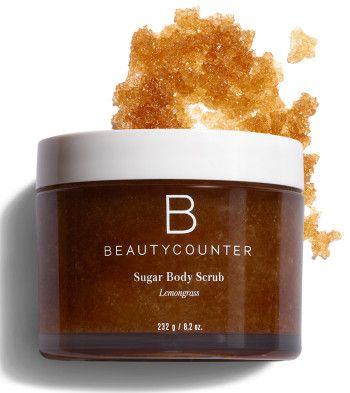 Beautycounter Sugar Body Scrub in Lemongrass