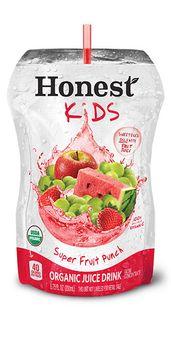 Honest Kids Organic Super Fruit Punch Juice