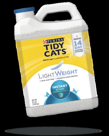 Tidy Cats® Lightweight Instant Action® Cat Litter