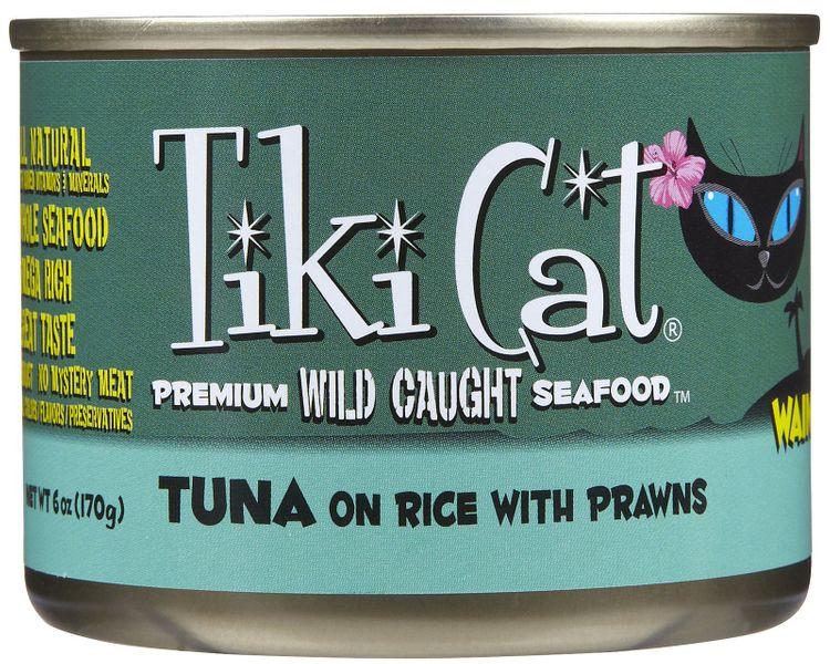 Tiki Cat Waimea Luau Tuna On Rice with Prawns