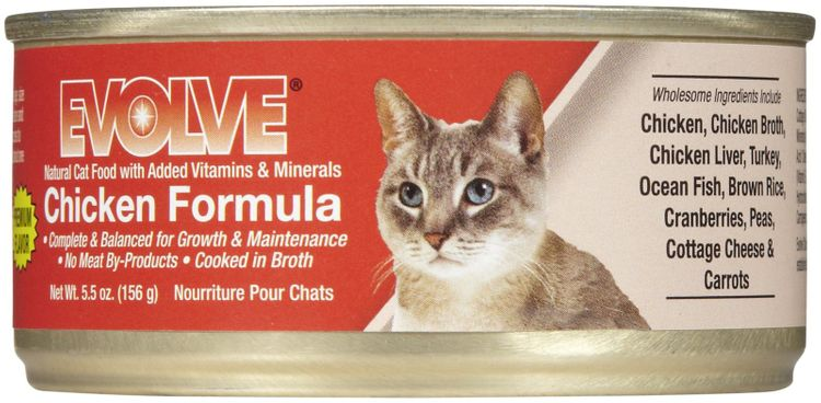 Evolve Canned Chicken Food For Cats