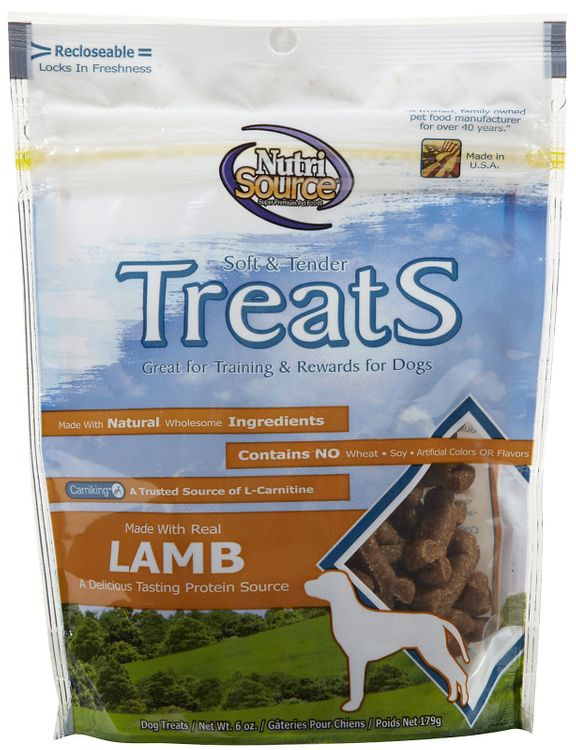 Nutri-source Nutri Source Soft & Tender Treats - Lamb - 6 oz