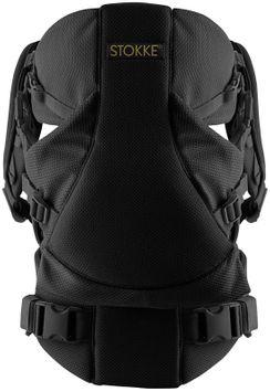 Stokke MyCarrier Organic Baby Carrier Color: Cool Black
