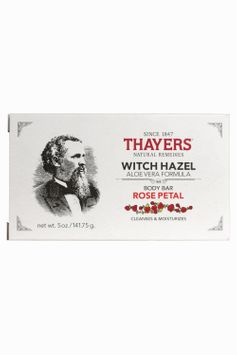 Thayers Rose Petal Witch Hazel Body Bar with Aloe Vera