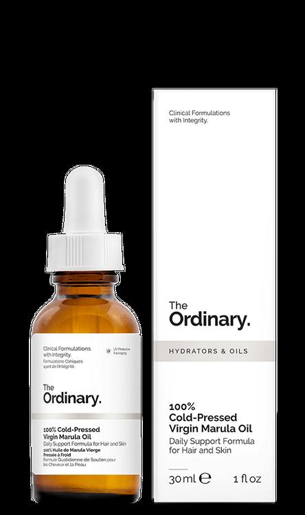 The Ordinary. 100% Cold-Pressed Virgin Marula Oil