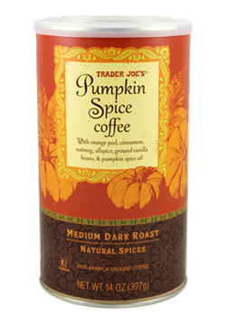 Trader Joes Pumpkin Spice Coffee
