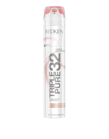 Redken Triple Pure 32 Neutral Fragrance High Hold Hairspray