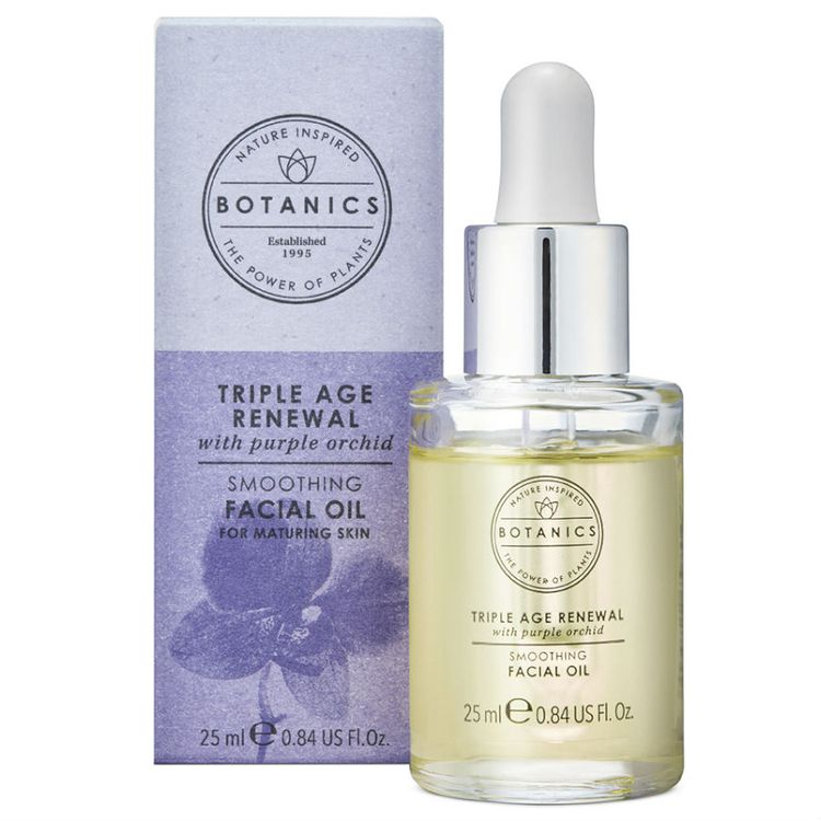 Botanics Triple Age Renewal Facial Oil 25ml