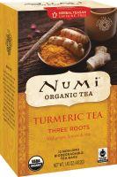 Numi Organic Tea Turmeric Tea Three Roots