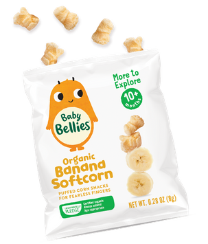 Baby Bellies Organic Banana Softcorn by Little Bellies