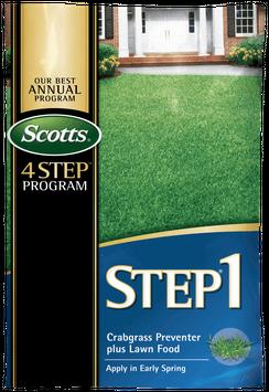 Scotts® STEP® 1 - Crabgrass Preventer Plus Lawn Food