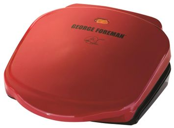 George Foreman 2-Serving Classic Grill - Red